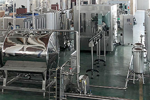 Complete gas filling line soda filling plant automatic filling equipment