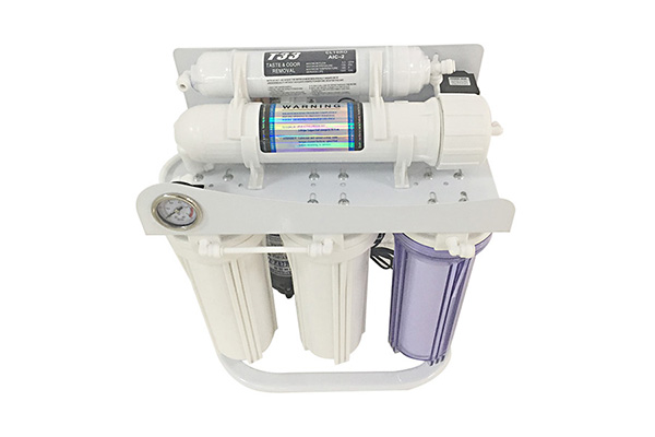 75G RO Water Purifier with pressure gauge & stand