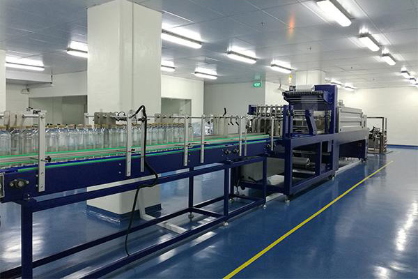 Linear Shrink Wrapping Machine